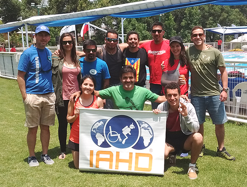 IAHD Instructor Training cross-over course in Chile