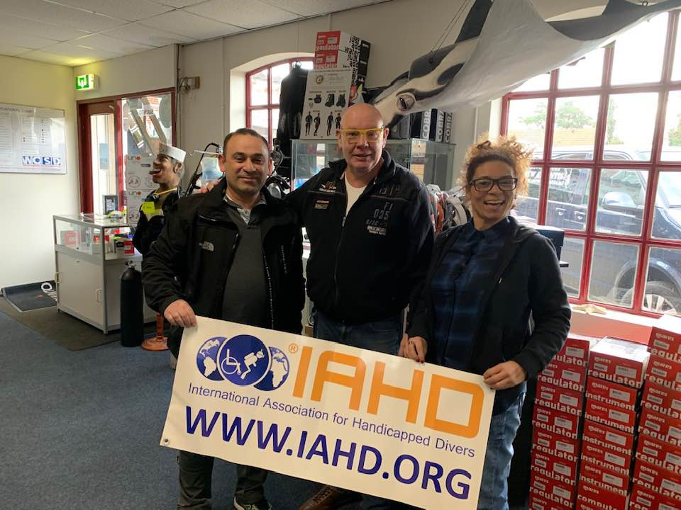 Warm welcome to two new IAHD trainers